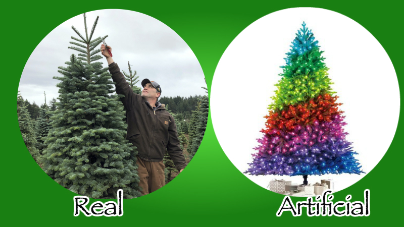 Artificial Christmas Trees Versus Real Christmas Trees