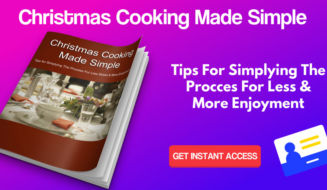 Christmas Cooking Made Simple Ebook