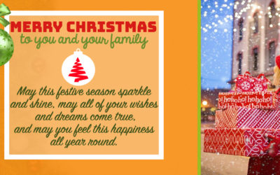 Christmas Wishes:May this festive season sparkle and shine, may all of your wishes and dreams come true, and may you feel this happiness all year round.