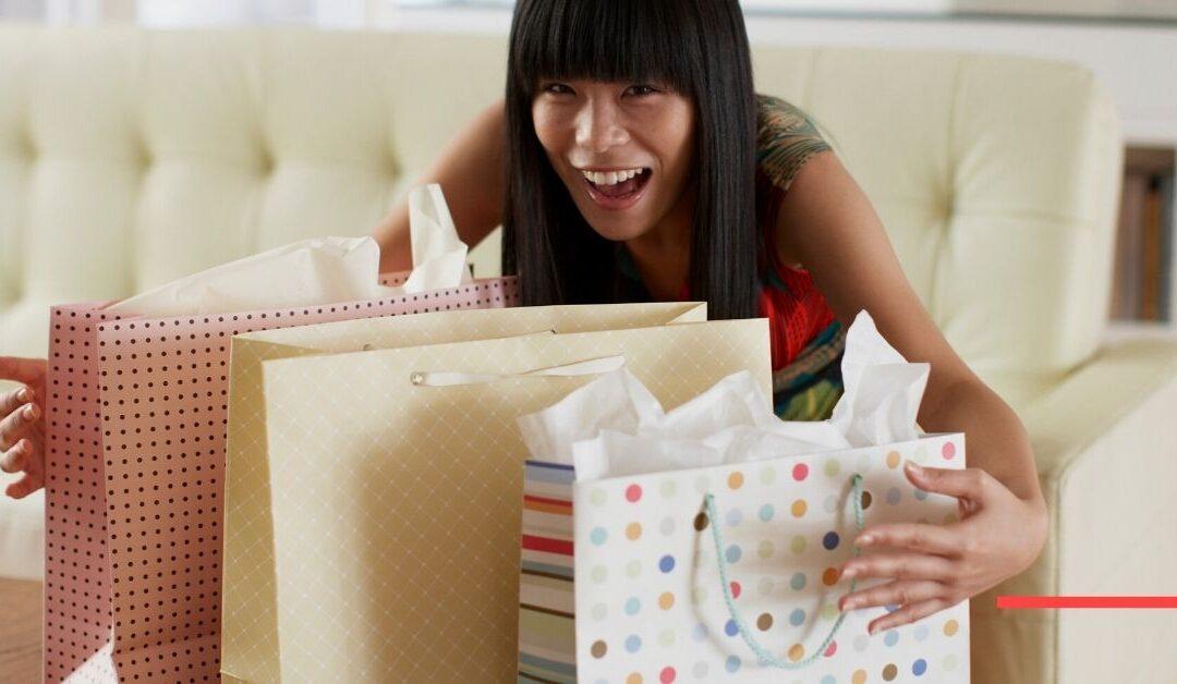 Christmas Shopping for Grab Bags