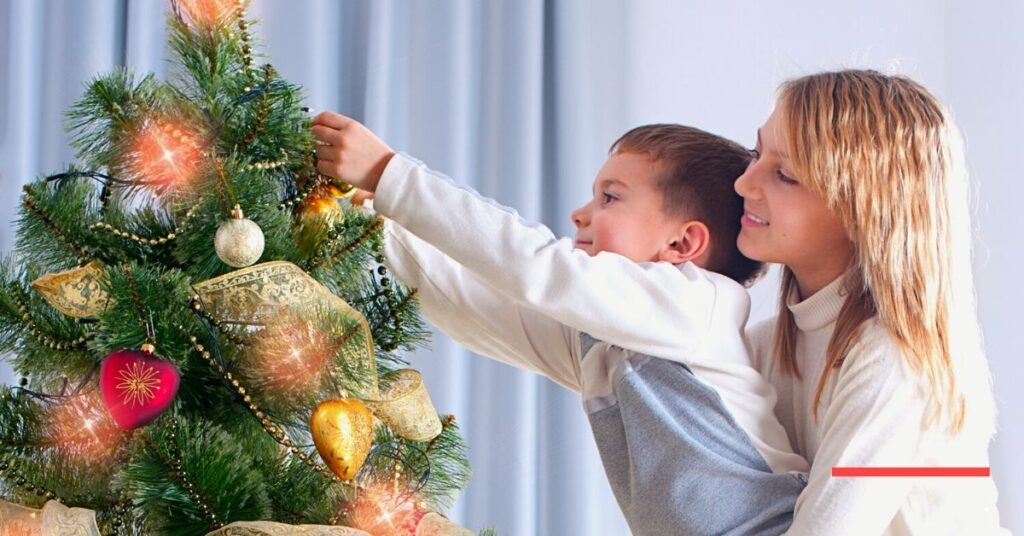 Let Your Kids Decorate Your Home for Christmas