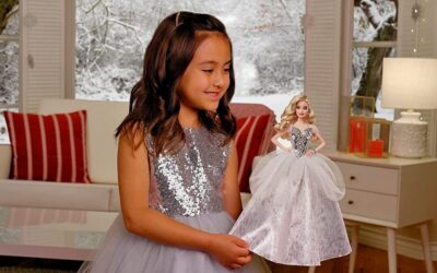 Barbie Signature 2021 Holiday Doll
