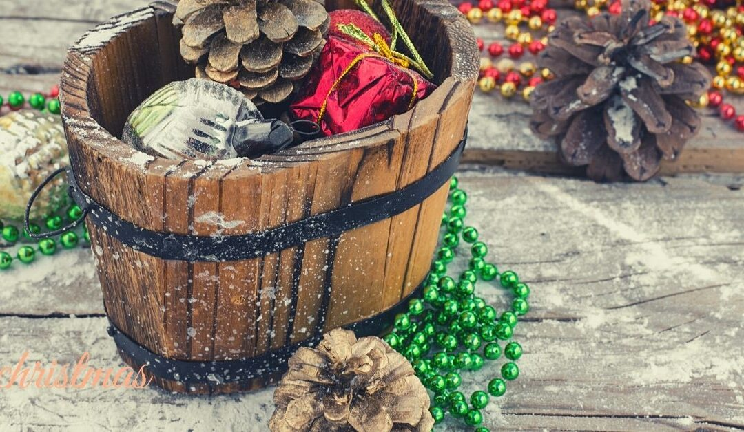 Decorating for Christmas:  Using What You Already Have Inside Your Home